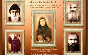 MARONITE SAINTS